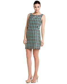 Multicolor Boucle Knit Dress