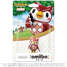 NEW JAPAN IMPORT Nintendo 3DS Wii U Amiibo FUKO Animal Crossing Series F / S #Nintendo