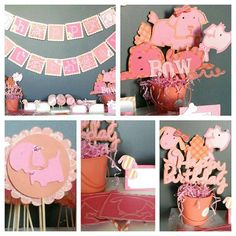 Check out this item in my Etsy shop https://www.etsy.com/listing/250945502/pink-puppy-party-package-pink-and-coral