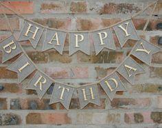 Happy Birthday Feliz Cumpleaños Bon Anniversaire ~ Feliz cumpleaños banner número feliz empavesado de cumpleaños