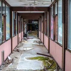Inside Grossinger's Crumbling Catskill Resort Hotel, NY