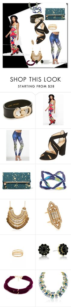 """""""Untitled #541"""" by veeranalla ❤ liked on Polyvore featuring Marc Jacobs, Boohoo, Vimmia, Charlotte Olympia, Clare V., Elizabeth Cole, Cloverpost and Elizabeth and James"""