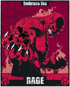 Lantern Propaganda: Red Lantern Corps