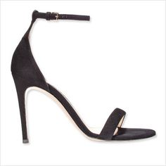 Simple Black Strappy Sandals good for any formal dress