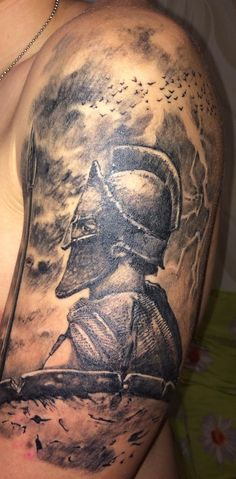 First tattoo warrior... sleeve tattoo