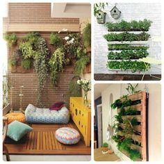 Los #jardines verticales también son posibles en espacios pequeños o interiores. ¿Dónde pondrías el tuyo?