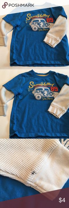 Gap - toddler boy shirt Size 3T boys long sleeve shirt; good condition, 1 stain on the sleeve (shown in picture). GAP Shirts & Tops Tees - Long Sleeve