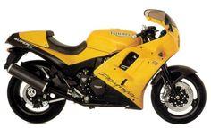 Old Flame: Triumph Daytona Super III. #fireitup @wearemotofire