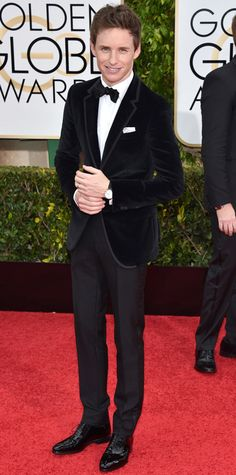 Golden Globes 2015: Red Carpet Arrivals - Eddie Redmayne from #InStyle