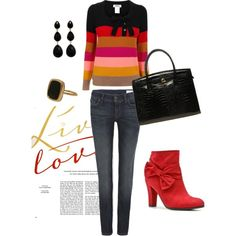 Love, created by #dreygraph on #polyvore. #mode #style Sonia by Sonia Rykiel All Saints