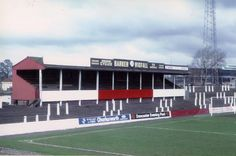 """""""The North Stand at Doncaster Rovers' former Belle Vue ground in Pic Bob Lilliman. British Football, Retro Football, Civil Engineering Projects, Doncaster Rovers, Nostalgic Pictures, Bristol Rovers, Football Stadiums, Great Britain, Past"""