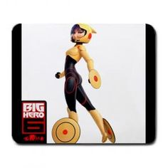 BIG HERO 6 MOVIE GO GO TOMAGO LARGE MOUSEPAD $8.99