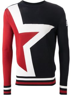 Moncler Gamme Bleu star intarsia sweater - that should be mine!