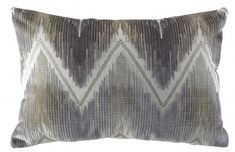 READY TO SHIP MODERN LUXE IKAT PILLOW - Pillows and Throws - Products | Curated Kravet