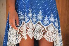 2fc5d90fa2a6 Střih na dámskou sukni LACE s prodlouženým zadním dílem + návod (velikost  34 - 44)
