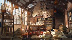 laboratory, Olga Orlova on ArtStation at https://www.artstation.com/artwork/R2e8r
