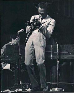 Miles Davis and Chick Corea