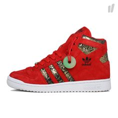 "ADIDAS "" YEAR OF THE SNAKE"" Red1"