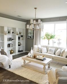 Living Room Ceiling Light Fixture - El Peterson Design