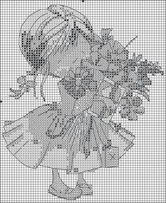 Мобильный LiveInternet Девчушки(вышивка крестом,схемы) | чирикало - Дневник чирикало |