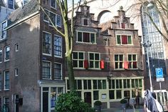 Kattegat, Amsterdam Centrum, huizen uit 1614.