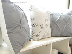 Thrifty and Chic: DIY Puckered Duvet Cover