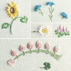 花刺しゅう「刺しゅうコラージュ」