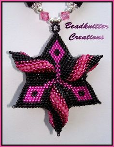 Bead Knitter Gallery: Rose Licorice