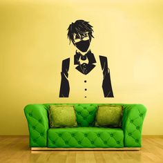 Wall Decal Mural Sticker Anime Manga Naruto Boy by StickersForLife, $27.99