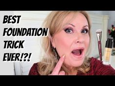 Over 40? TRY LIFE CHANGING FOUNDATION TIPS & HACKS! - YouTube