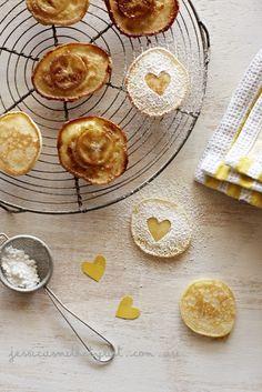 Baby banoffee pancakes via Jessica Smith Stylist
