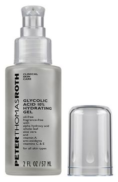 Peter Thomas Roth Glycolic Acid 10% Hydrating Gel available at #Nordstrom