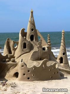 Day 332 - this is a futuristic sand castle
