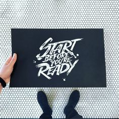 Start Before You're Ready by Emanuele Ricci