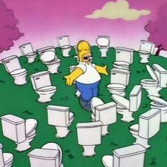 Homer loves Toilets just as much as we do. #yeg #edmonton #stalbert #sprucegrove #shpk