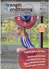 Strength & Conditioning 15. Per una scienza del movimento dell'uomo.  http://www.calzetti-mariucci.it/shop/prodotti/strength-conditioning-n-15-rivista-federazione-pesistica