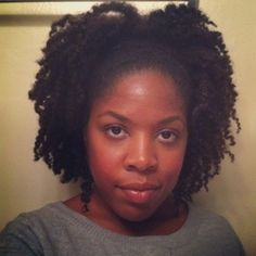 Ni'Cole // 4A/B Natural Hair Style Icon      My lil Sis!!!