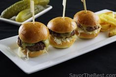 Kraut Burger Sliders