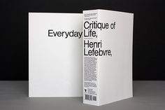 Neil Donnelly with art direction by Andy Pressman: Critique of Everyday Life