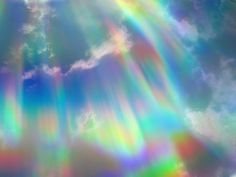 Holographic rainbow sunlight