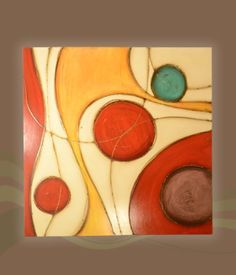 Love the movement and colors Modern Art, Contemporary Art, Silk Art, Painting Lessons, Pottery Painting, African Art, Painting Inspiration, Collage Art, Art Projects