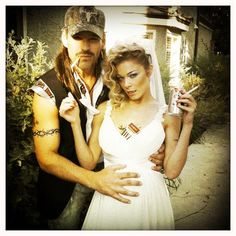 Redneck - Chain Smoking Pregnant Bride