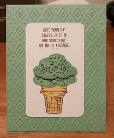 Boho Mint Stack by zipperc98 - Cards and Paper Crafts at Splitcoaststampers