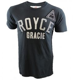 One of the most comfortable and shirts I've ever owned in a perfect slim-fit cut! The Roots of Fight Royce Gracie #1 Tee.