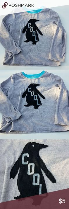 Carter Cool penguin pj top Carter Cool penguin pj top  Size 7 In good condition  I do bundle and offers are welcome Carter's Pajamas Pajama Tops