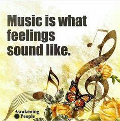 Music is what feelings sound like ༺♡༻