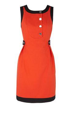 Karen Millen Sixties Shift Dress [#KMM083] - $90.15 :