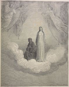 21.1. Dante gazes fixedly at Beatrice and every other thought is banished from his mind