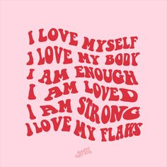 Self love affirmations aesthetic art print. Add some good vibes and positivity to your room with this self love affirmations art print! Self love, motivational quote room decor. Pink and red minimal self love print. Body positivity, self love, love yourself, love your body. Positive vibes, positive quotes print. Aesthetic room decor. Instagram @basicartkid Self Love Quotes, Cute Quotes, Preppy Quotes, Image Positive, Images Murales, Plakat Design, Self Love Affirmations, Happy Words, Photo Wall Collage