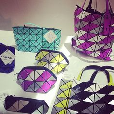 Bags from Bao Bao Issey Miyake's spring 2014 collection